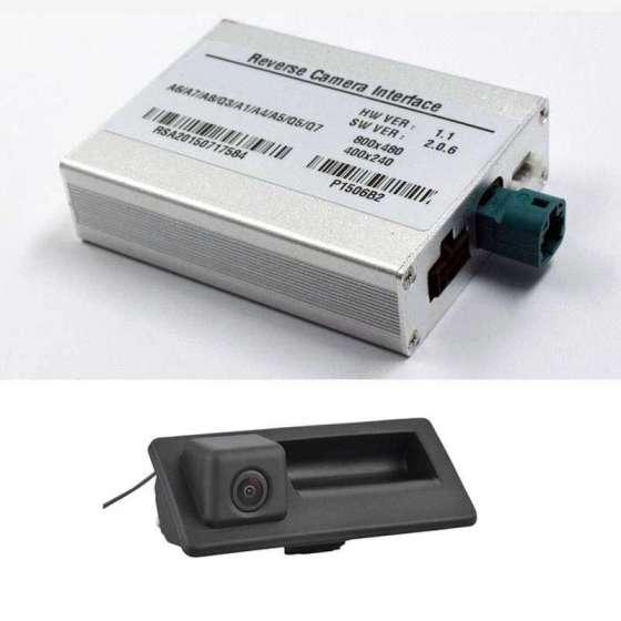 Camera Marsarier video spate Audi A4 A5 A6 A7 A8 A1 Q3 Q5 Q7 MMI3G