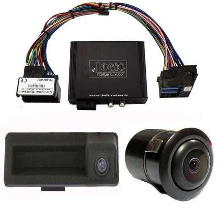 Camera Marsarier video spate + fata BMW E90 E91 E92 E60 E61 E63 E70 E71 CCC