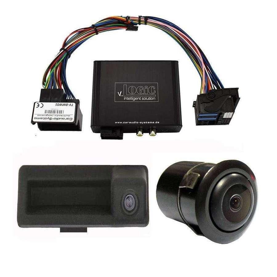 Camera Marsarier video spate + fata BMW E90 E91 E92 E60 E61 E63 E70 E71 X1 Z4 CIC