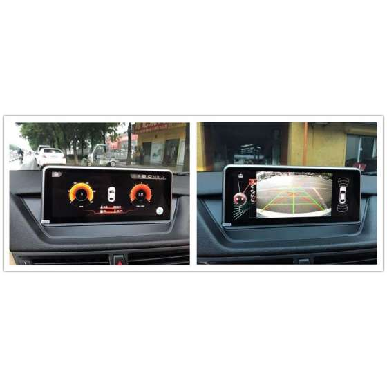 Monitor Navigatie Android BMW X1 E84 Bluetooth GPS USB Ecran 10.25 inch NAVD-BMW-X1-E84