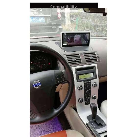 Navigatie Android Volvo S40 C30 PX6 Waze Gps Carkit Usb Internet NAVD-PS40C30