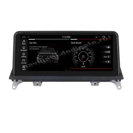 Monitor Navigatie Android BMW X5 E70 X6 E71 Bluetooth GPS USB NAVD-8215CCC