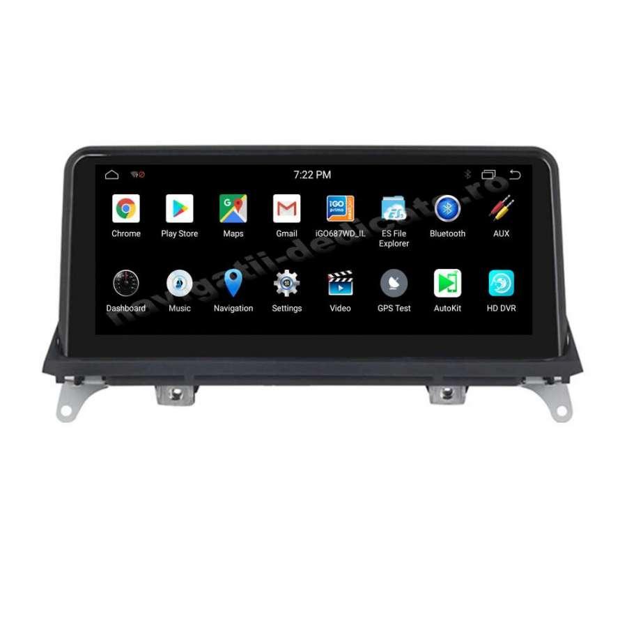 Monitor Navigatie Android BMW X5 E70 X6 E71 Bluetooth GPS USB NAVD-8215CIC