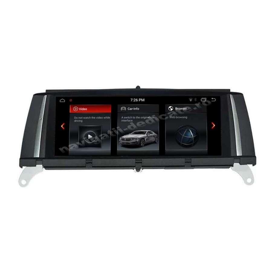Monitor Navigatie Android BMW X3 F25 X4 F26 Bluetooth GPS USB NAVD-X3