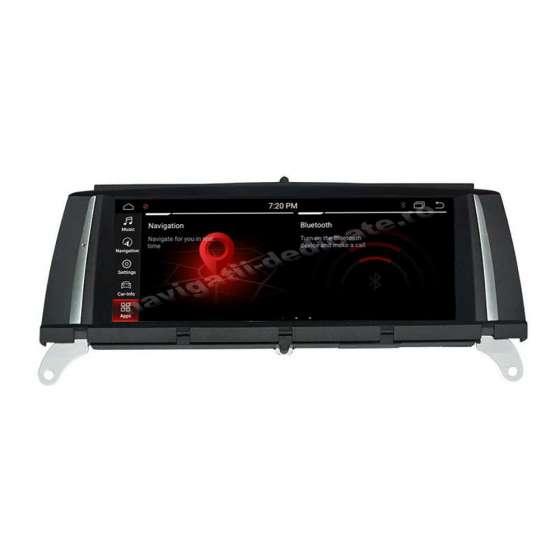 Monitor Navigatie Android BMW X3 F25 X4 F26 CIC Bluetooth GPS USB NAVD-X3F25