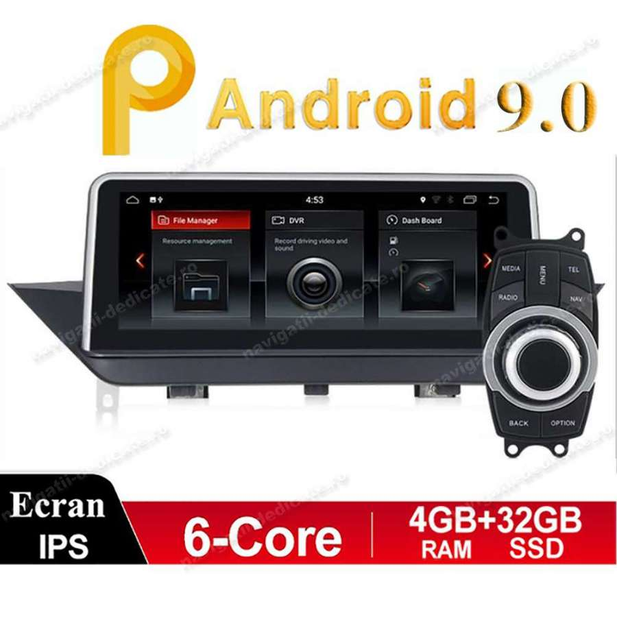 Monitor Navigatie Android BMW X1 E84 Bluetooth GPS USB Ecran 10.25 inch NAVD-E84