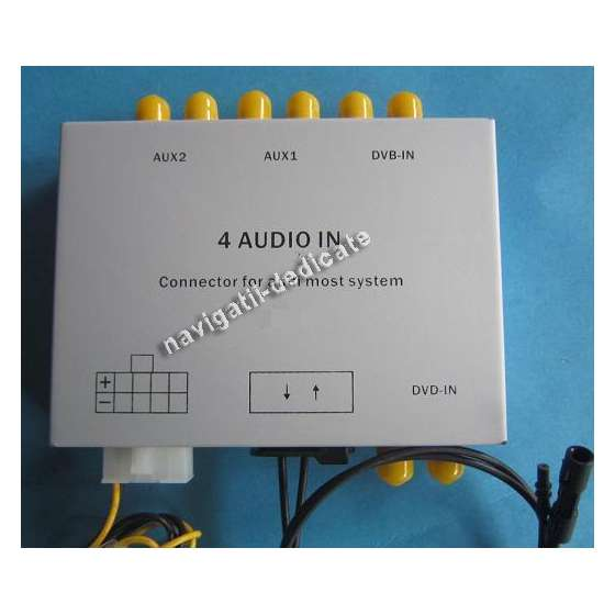 Interfata audio MOST AUDI 2G A6/A8/Q7
