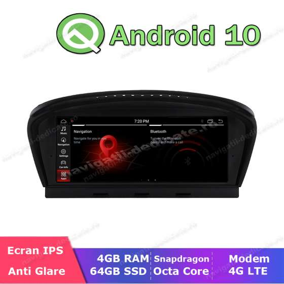 Monitor Navigatie Dedicata Android Bluetooth GPS USB BMW E60 E90 NAVD-E60