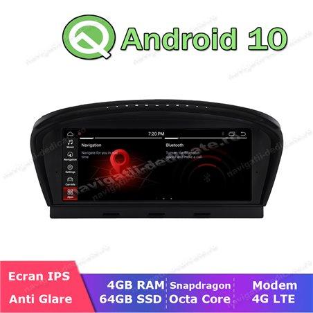 Monitor Navigatie Android BMW E60 E90 CCC Bluetooth GPS USB NAVD-E60CCC