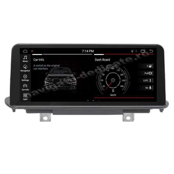 Monitor Navigatie Dedicata Android BMW X5 F15 X6 F16 Bluetooth GPS USB NAVD-F15