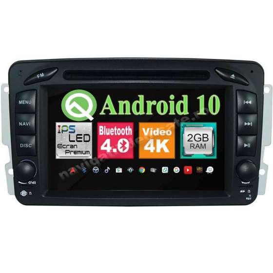 Navigatie Android 9.0 MERCEDES BENZ C CLASS VITO VIANO W203 2000-2004 NAVD-MT571G