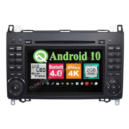 Navigatie Android 10 Mercedes Benz A B Class Vito Viano Sprinter NAVD-MT068
