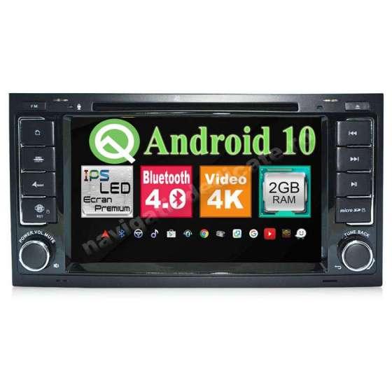 NAVIGATIE Android 10 VW TOUAREG MULTIVAN Waze NAVD-MT9200