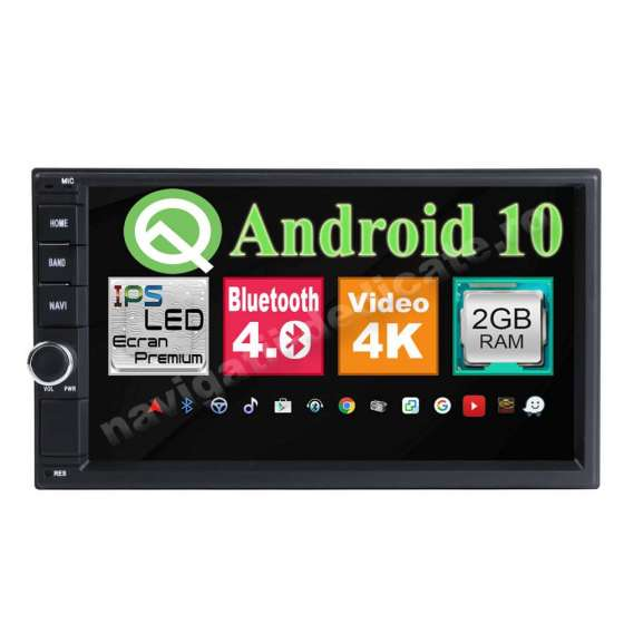 Navigatie Android 10 VW PASSAT B5 GOLF 4 SKODA OCTAVIA TOUR FABIA SUPERB NAVD-MT7200VW