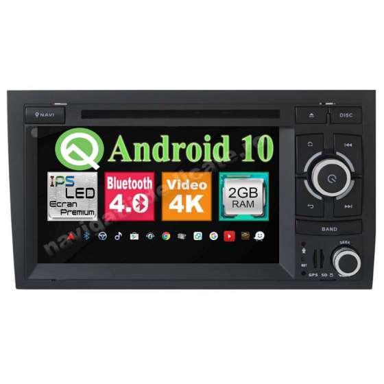 Navigatie Android 10 Audi A4 B6 B7 SEAT EXEO NAVD-MT050
