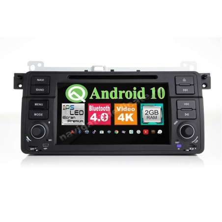 Navigatie Android 10 BMW E46 Rover 75 NAVD-MT052