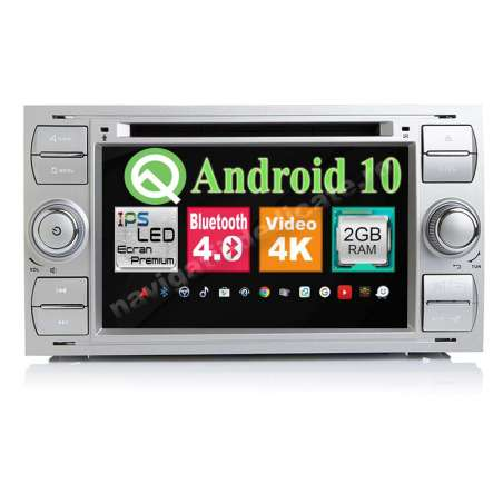 Navigatie Android 10 Ford FOCUS FIESTA FUSION KUGA INTERNET NAVD-MT9488S