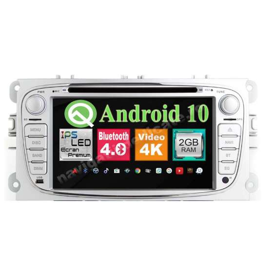 Navigatie Android 10 Ford Focus Mondeo S-Max NAVD-MT9457S