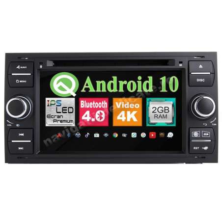 Navigatie Android Ford FOCUS FIESTA FUSION KUGA INTERNET NAVD-MT9488BK