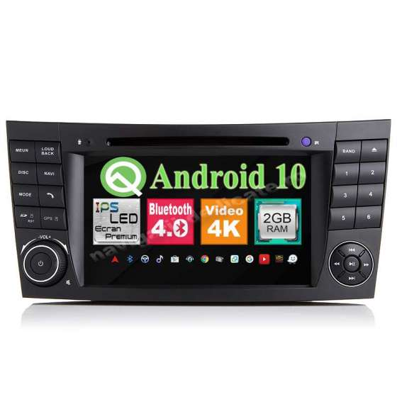 Navigatie Android Mercedes Clasa E W211 CLS W219 NAVD-P090