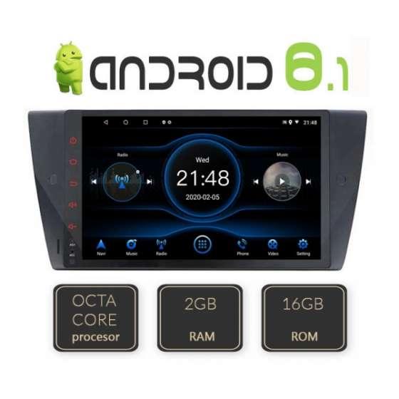 Navigatie Android BMW SERIA 3 E90, E91, E92 Octa Core GPS CARKIT NAVD-L095