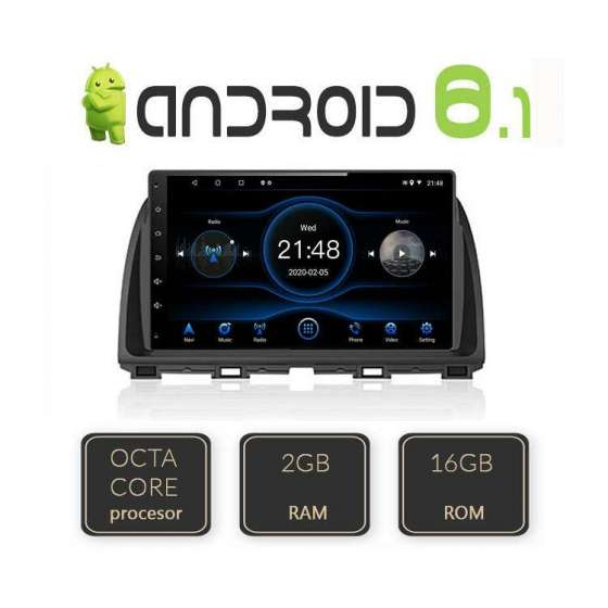 Navigatie Android MAZDA CX-5 Octa Core Carkit Internet NAVD-L212