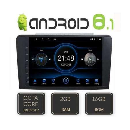 Navigatie Android Mercedes Benz ML W164 GL X164 Octa Core Gps Carkit NAVD-L219