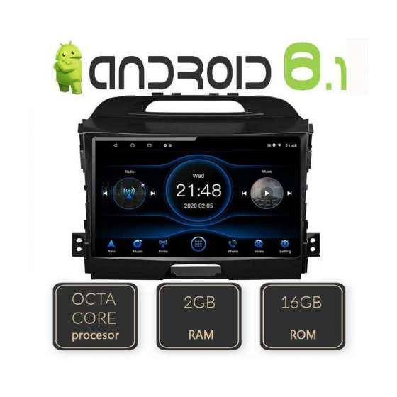 Navigatie Android KIA SPORTAGE 2010 Octa Core GPS CARKIT NAVD-L325