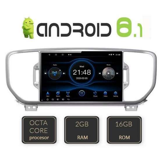 Navigatie Android KIA SPORTAGE 2016 Octa Core GPS CARKIT NAVD-L576