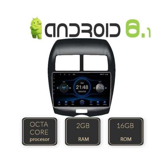 Navigatie Android Mitsubishi ASX Octa Core Internet NAVD-L026
