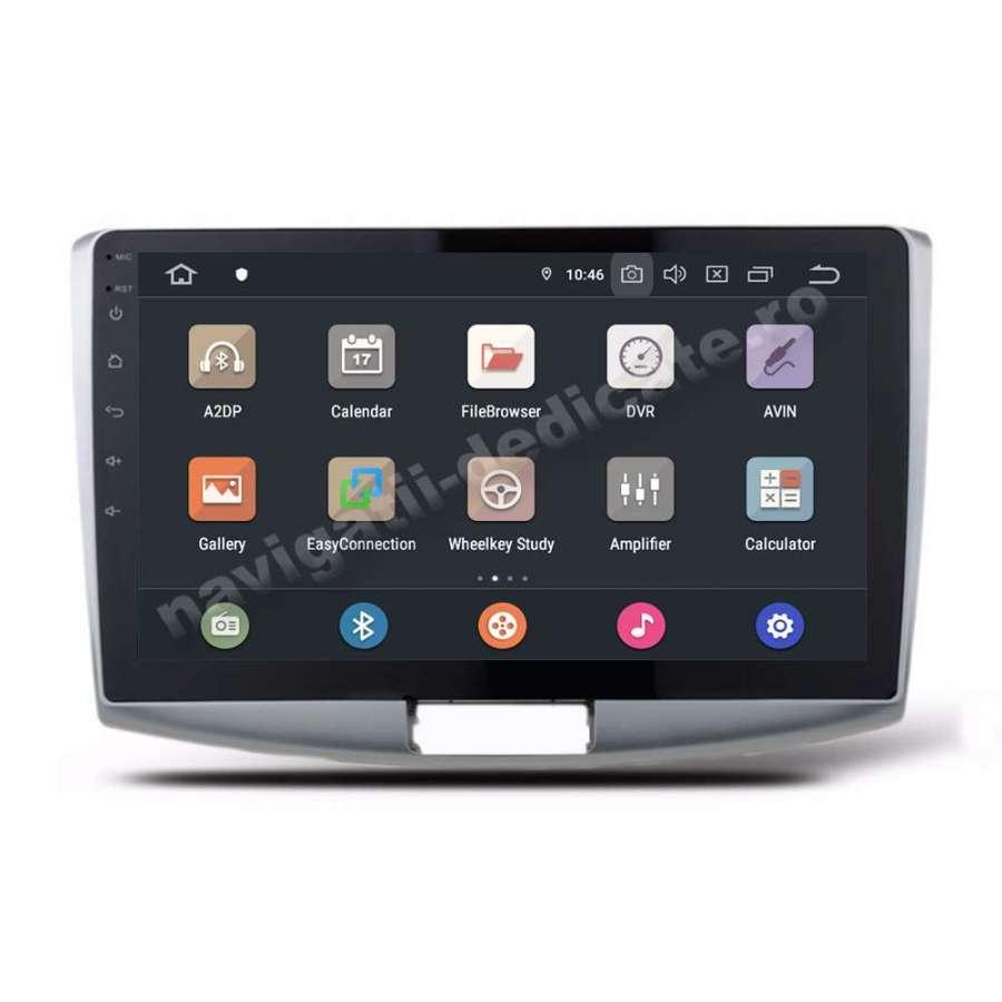 Carpad Android PX6 4GB Ram 64GB SSD Ecran 10.1 inch Volkswagen Passat B6 B7 CC NAVD-P1012VW