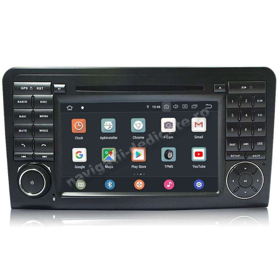 Navigatie Android PX6 4GB Ram 64GB SSD Mercedes Benz ML w164 GL X164 NAVD-P219