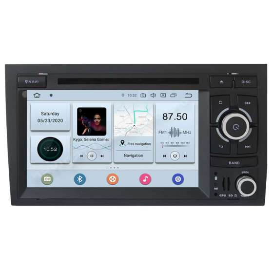 Navigatie Android 10 PX6 4GB Ram 64GB SSD Audi A4 B6 B7 SEAT EXEO NAVD-P050
