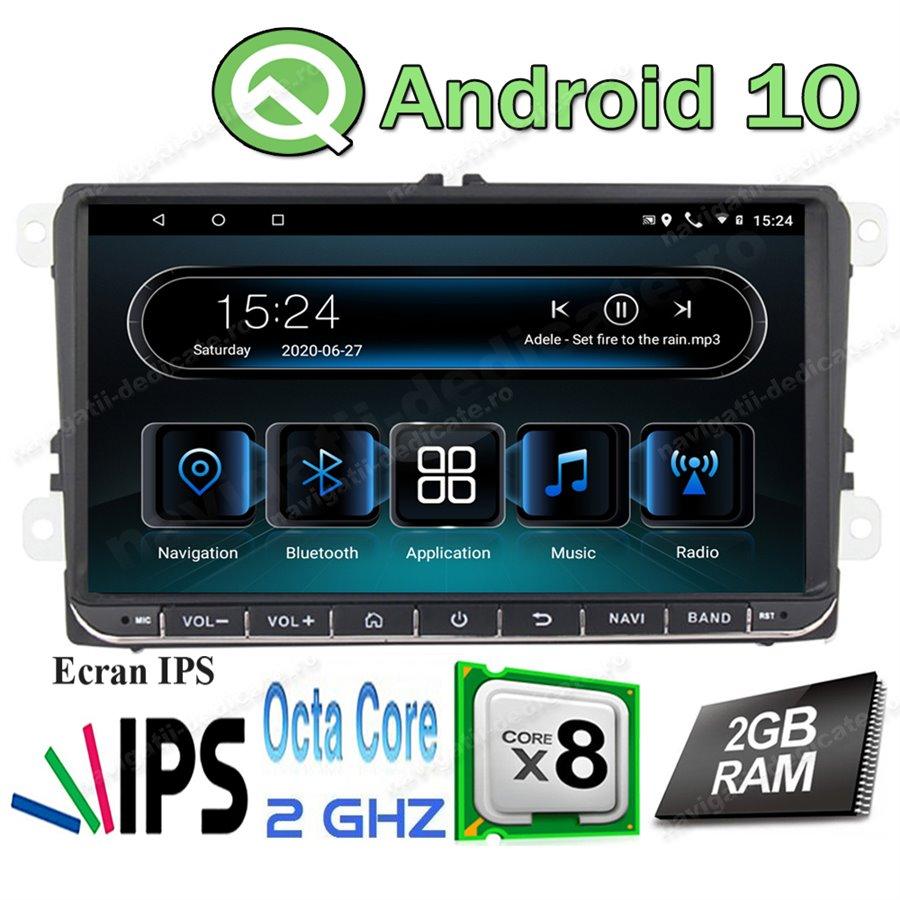 Navigatie Android Volkswagen Skoda Seat Octa Core Ecran 9 inch NAVD-i9800