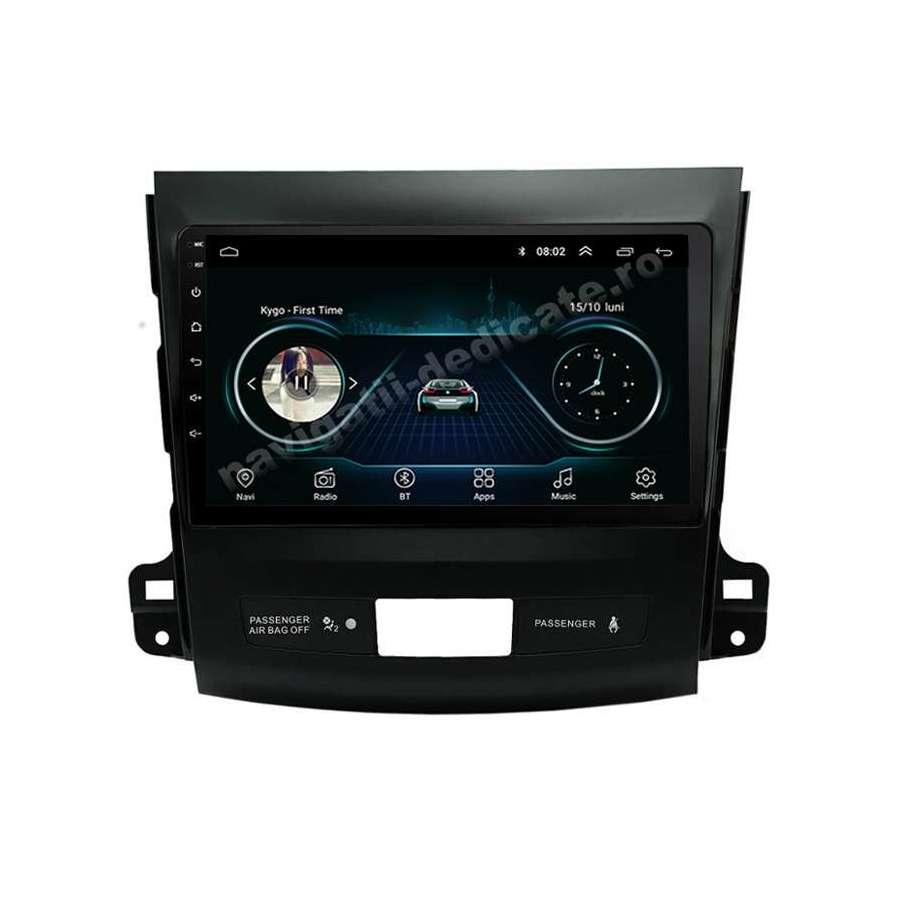 Navigatie Android MITSUBISHI OUTLANDER / Peugeot 4007 / CITROEN C-CROSSER NAVD-E9056