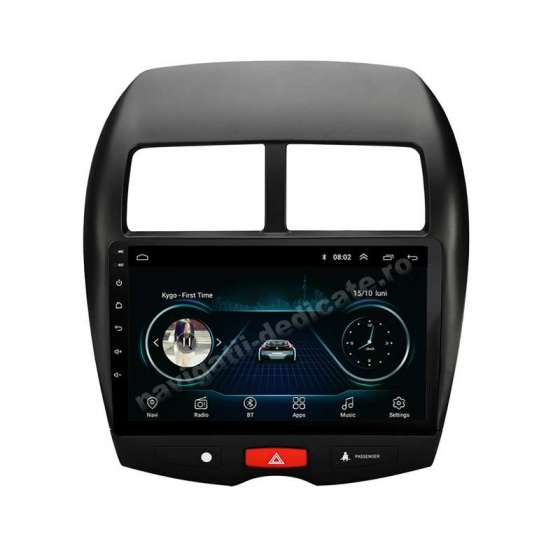 Navigatie Android Mitsubishi ASX Carkit Internet NAVD-E9230