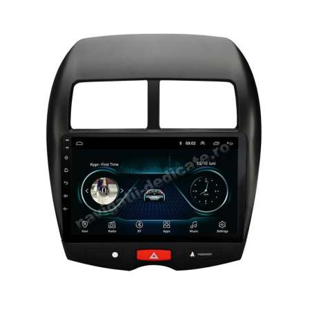 Navigatie Android Mitsubishi ASX Carkit Internet NAVD-E9230