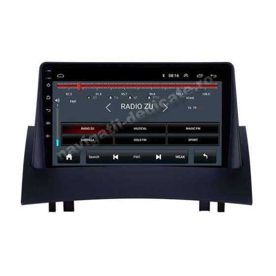 Navigatie Android RENAULT MEGANE 2 Internet Carkit NAVD-E9098