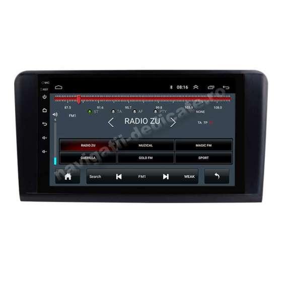 Navigatie Android Mercedes Benz ML W164 GL X164 Internet Gps Carkit NAVD-E9219