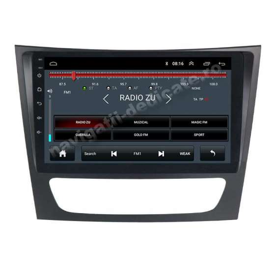 Navigatie Android Mercedes Clasa E W211 CLS W219 NAVD-E9090