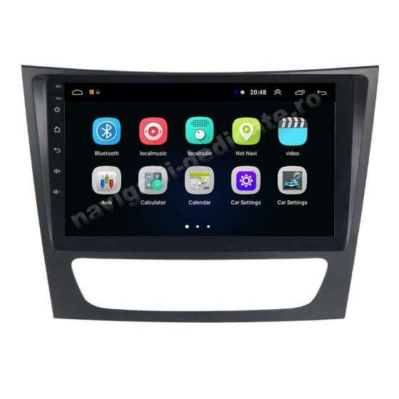 Navigatie Android Mercedes Clasa E W211 CLS W219 NAVD-E9090