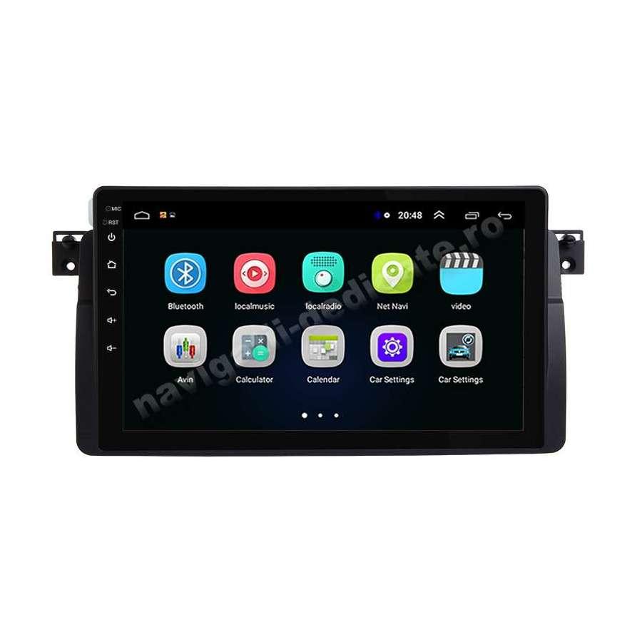 Navigatie Android BMW E46 Internet Carkit NAVD-E9052