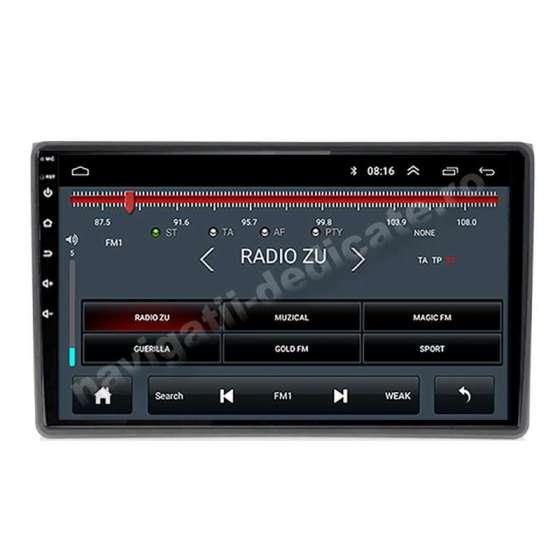 Navigatie Android Audi A4 B6 B7 SEAT EXEO Ecran 9 inch Carkit NAVD-E9050