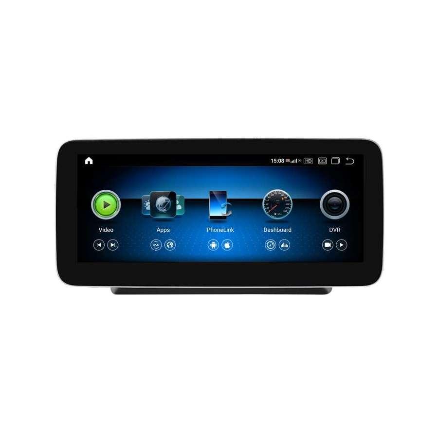 Monitor Navigatie Android Mercedes C Class W204 S204 NTG 5.0 Ecran 10.25 inch Waze Carkit USB NAVD-Z1003C