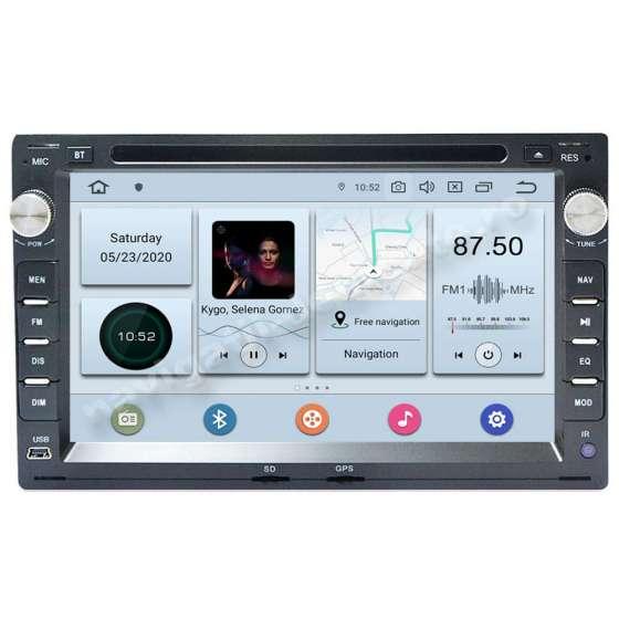 Navigatie Android 4GB Ram VW PASSAT B5 GOLF4 SKODA OCTAVIA TOUR FABIA SUPERB PX6 NAVD-P9245