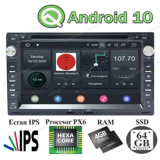 Navigatie Android 4GB Ram VW PASSAT B5 GOLF4 SKODA OCTAVIA TOUR FABIA SUPERB NAVD-P9245