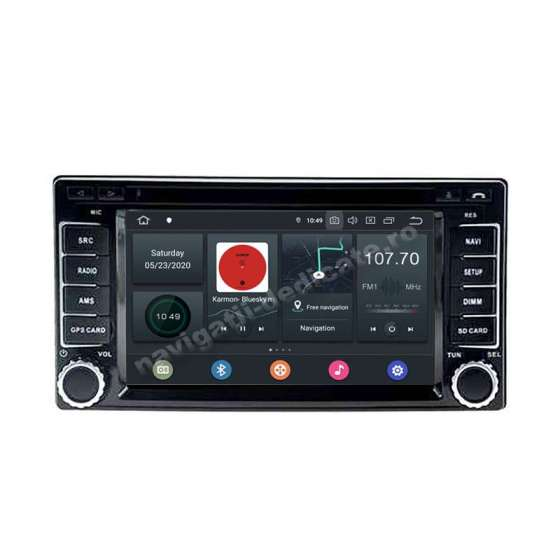 NAVIGATIE Android SUBARU FORESTER IMPREZA DVD GPS AUTO CARKIT PX5 NAVD-P5504