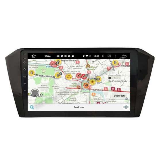 Navigatie Android VW Passat B8 2014 Ecran IPS LED 10,1 inch Intel NAVD-i10B8