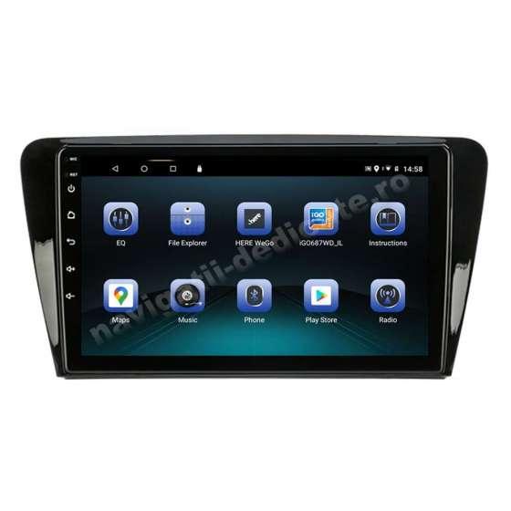 Navigatie Android Skoda Rapid Seat Toledo Ecran 9 inch IPS Led NAVD-E9077