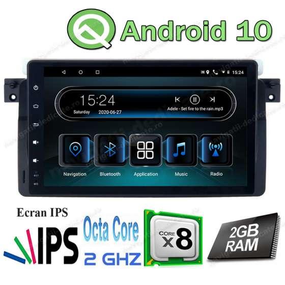 Navigatie Android Intel Octa Core 2GB Ram BMW E46 Rover 75 NAVD-I9052
